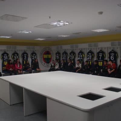 Partnerimiz Stadyum Turu - Skola Travel Okul Gezileri